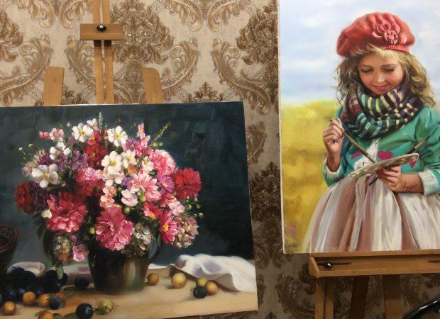 بهترین آموزشگاه نقاشی شرق تهران
